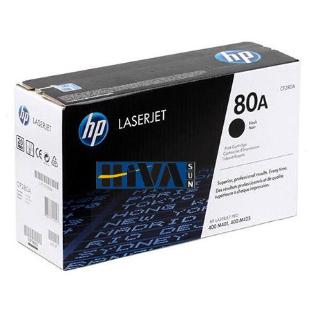 شارژ کارتریج HP 80A